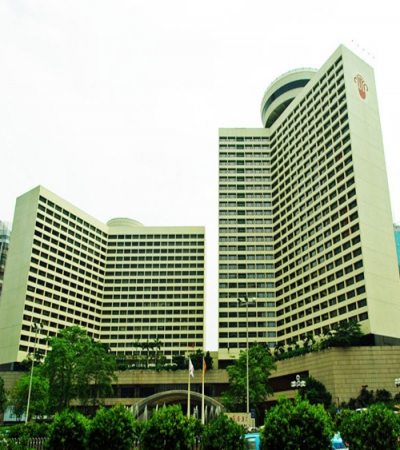 广州花园国际酒店定制淋浴房